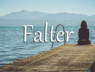 小词详解 | falter