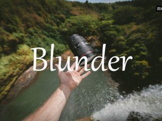 小词详解 | blunder