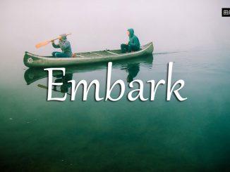 小词详解 | embark