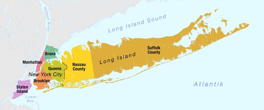 Long Island Sound 长岛海峡