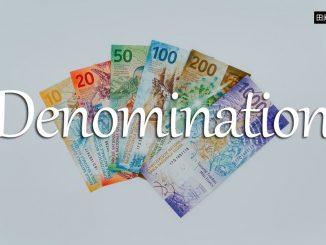 小词详解 | denomination