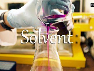 小词详解 | solvent